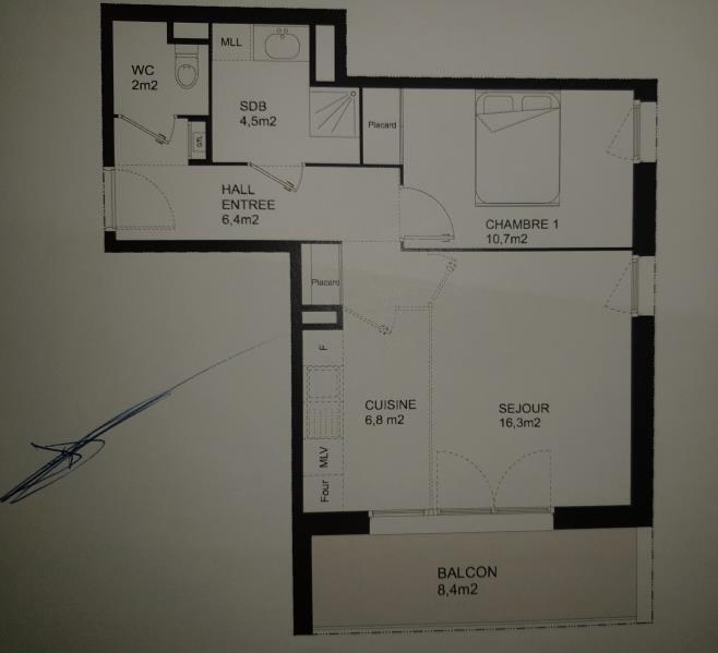 Vente appartement Bron 189000€ - Photo 8