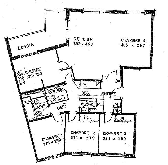 Sale apartment Le plessis robinson 495000€ - Picture 3