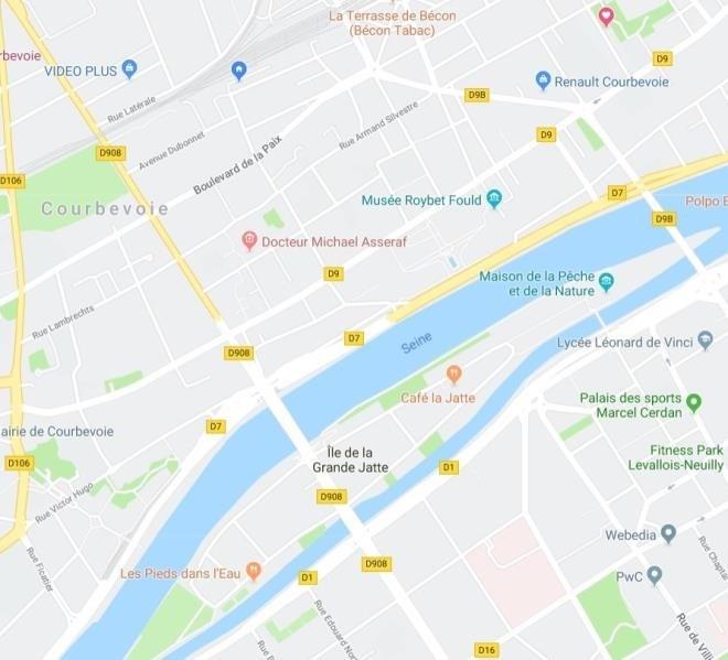 Verkoop  appartement Courbevoie 895000€ - Foto 2
