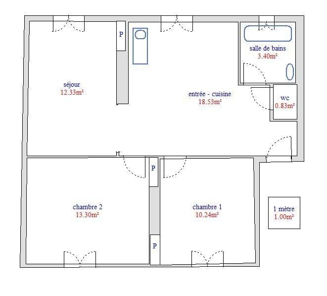 Location appartement Grigny 605€ CC - Photo 5