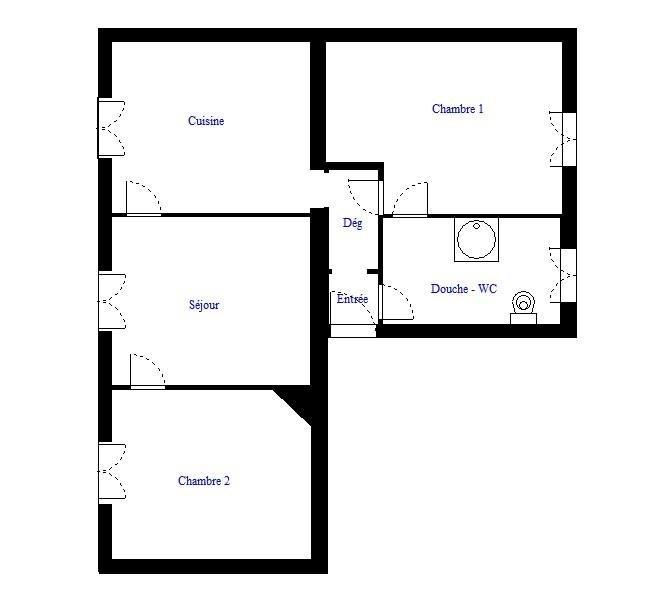 Vendita appartamento Paris 18ème 400000€ - Fotografia 2