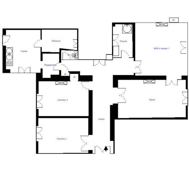 Revenda apartamento Paris 18ème 899000€ - Fotografia 3