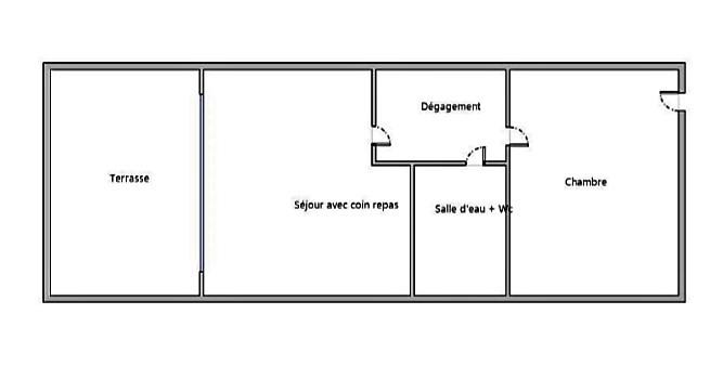 Produit d'investissement appartement Le cap d'agde 88000€ - Photo 5