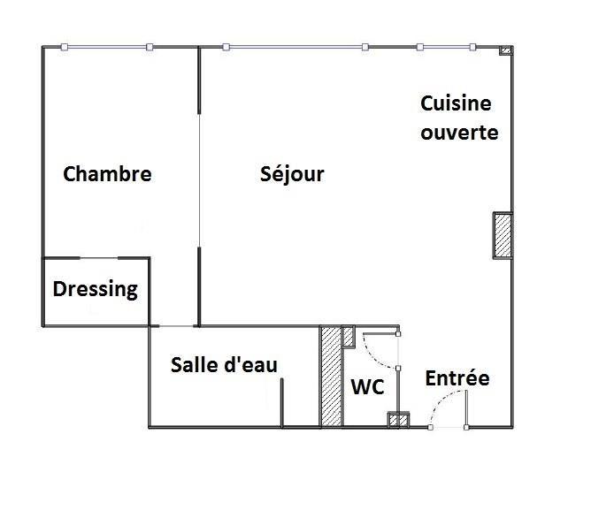出售 公寓 Paris 18ème 450000€ - 照片 3