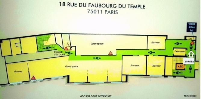 Location bureau Paris 11ème 5916€ HT/HC - Photo 7