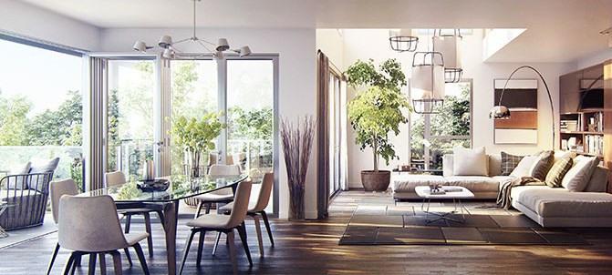Venta de prestigio  apartamento Paris 15ème 1989000€ - Fotografía 5