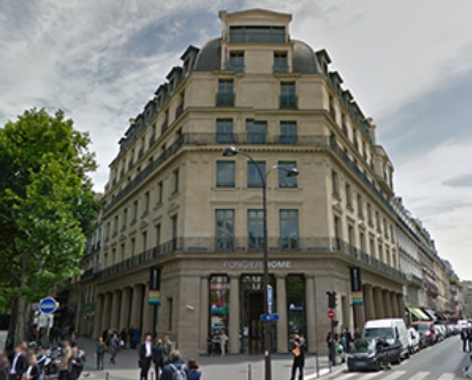 Sale office Paris 2ème 3 550 000€ - Picture 1
