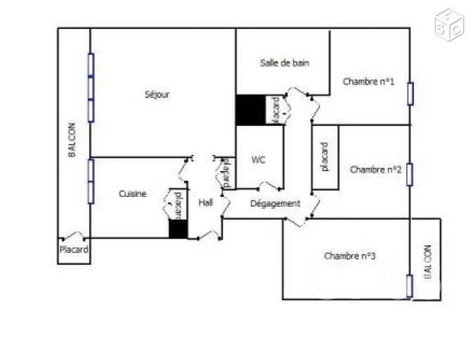 Vente appartement Perpignan 115000€ - Photo 4
