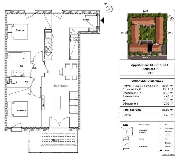 Vente appartement Toulouse 182500€ - Photo 7