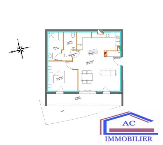 Vente de prestige appartement St just st rambert 159 850€ - Photo 2