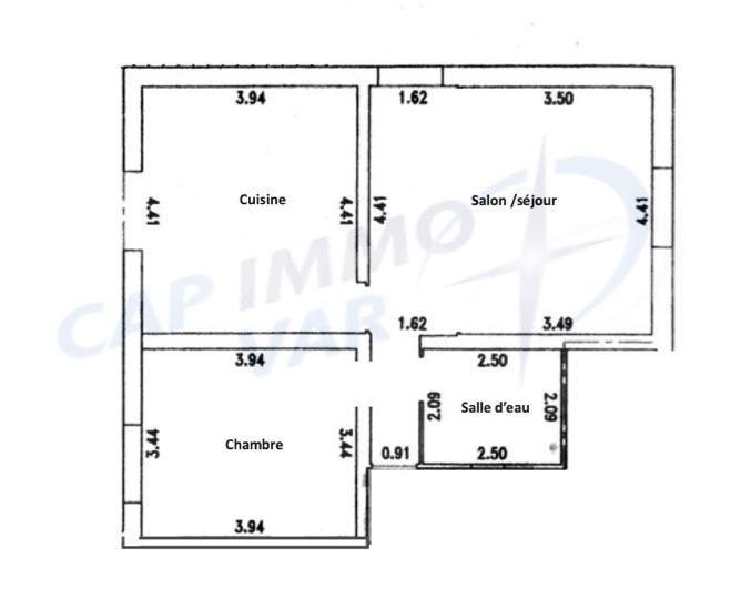 Vente appartement Le beausset 264000€ - Photo 14