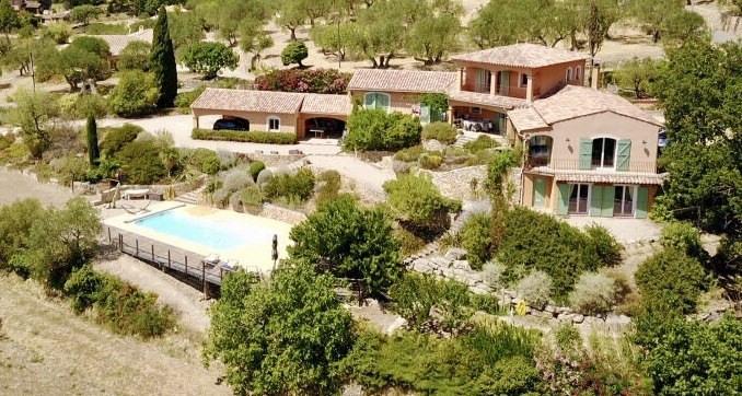 Revenda residencial de prestígio casa Seillans 750000€ - Fotografia 3