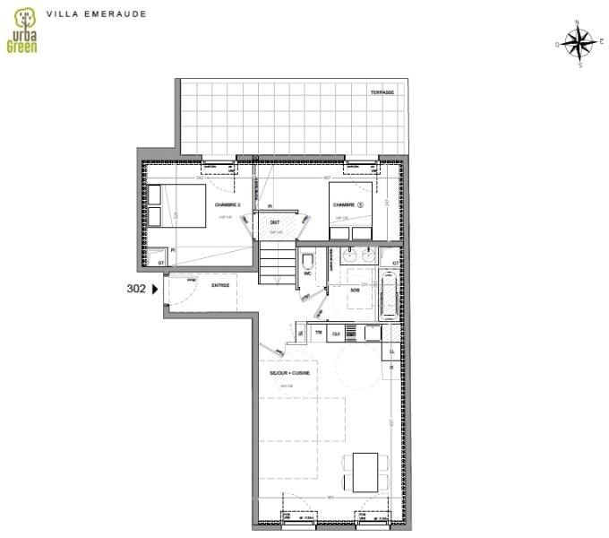 Vente appartement Dinard 380000€ - Photo 3