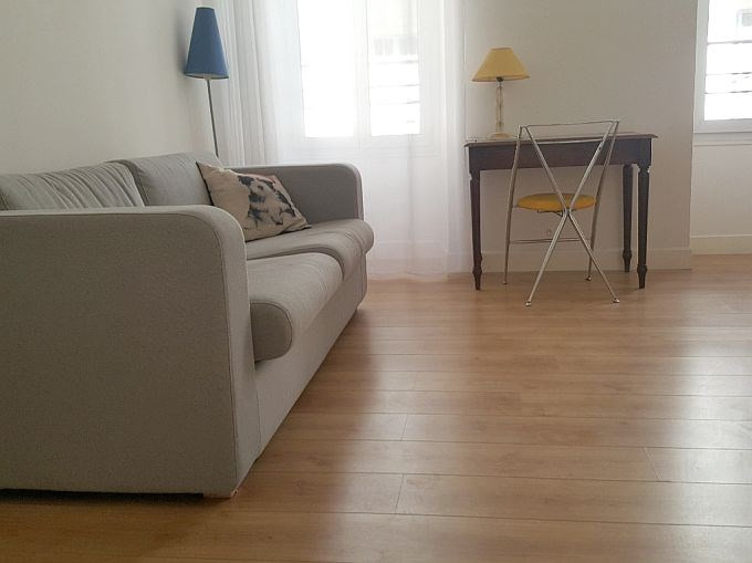 Rental apartment Nice 1 150€ CC - Picture 1