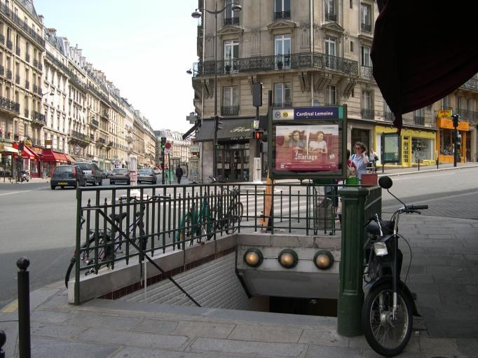 Commercial property sale shop Paris 5ème 143 000€ - Picture 1