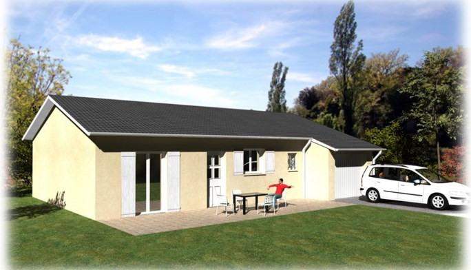 Sale house / villa Saint-laurent-de-chamousset 179000€ - Picture 1