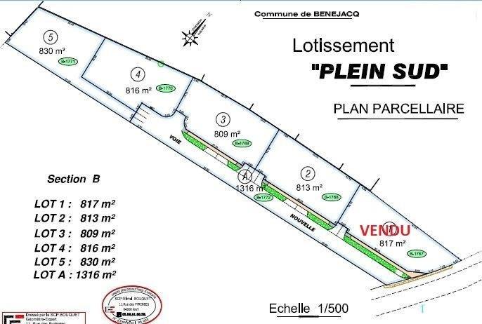 Vente terrain Benejacq 60000€ - Photo 2
