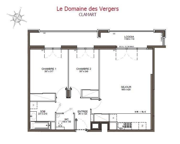 Sale apartment Clamart 455600€ - Picture 2
