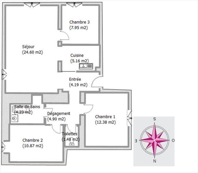 Revenda apartamento St georges les bains 119000€ - Fotografia 5