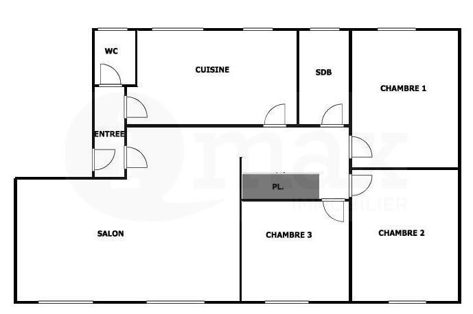 Sale apartment Asnieres sur seine 499000€ - Picture 5