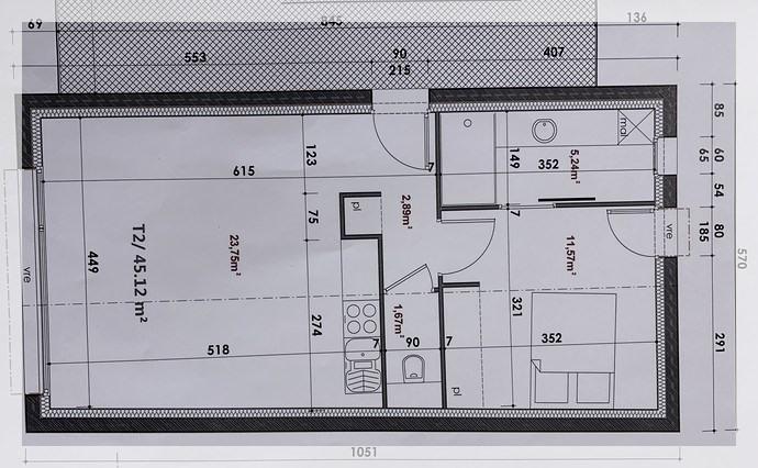 Rental apartment Ancenis 490€ CC - Picture 2