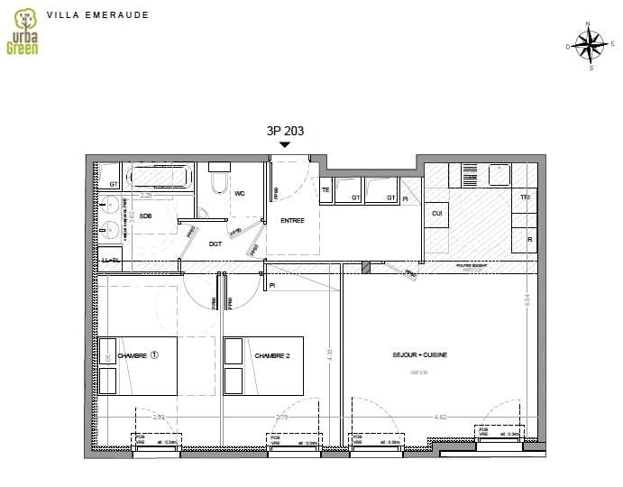 Sale apartment Dinard 360000€ - Picture 3