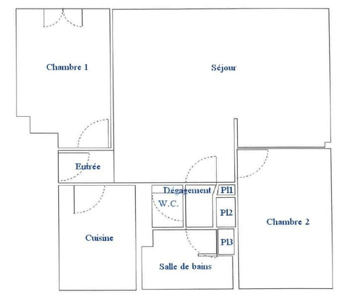 Sale apartment Chaville 310000€ - Picture 6