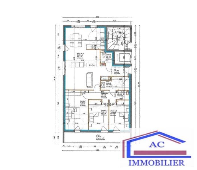 Vente de prestige appartement St just st rambert 274990€ - Photo 2