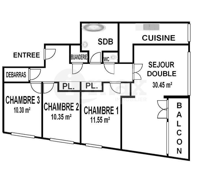 Sale apartment Courbevoie 540000€ - Picture 10