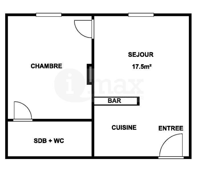 Sale apartment Clichy 210000€ - Picture 1