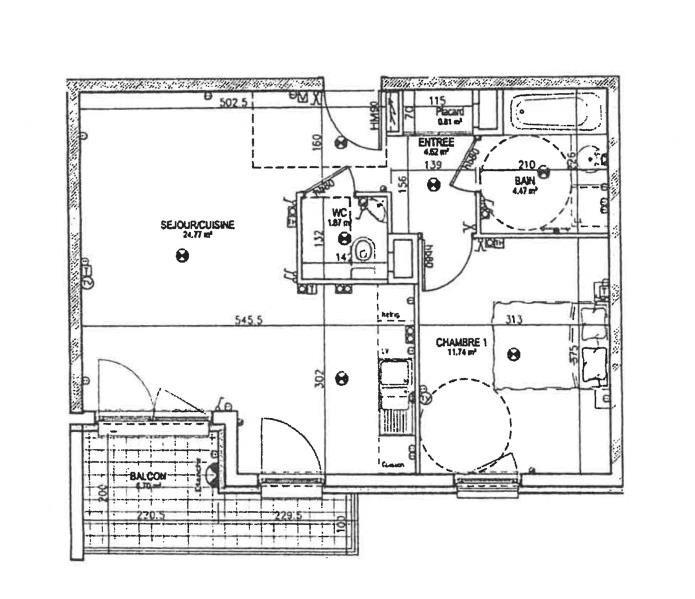 Sale apartment Eckbolsheim 119000€ - Picture 2