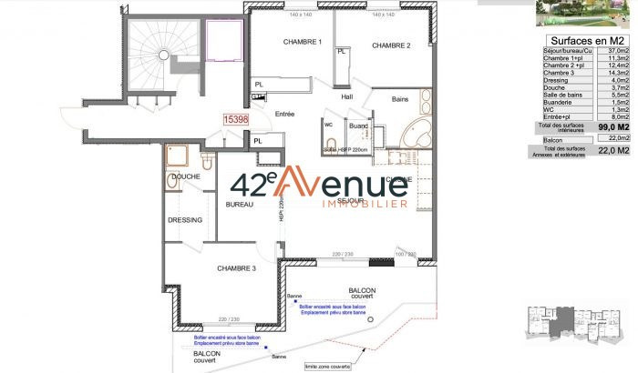 出售 公寓 La fouillouse 298000€ - 照片 2