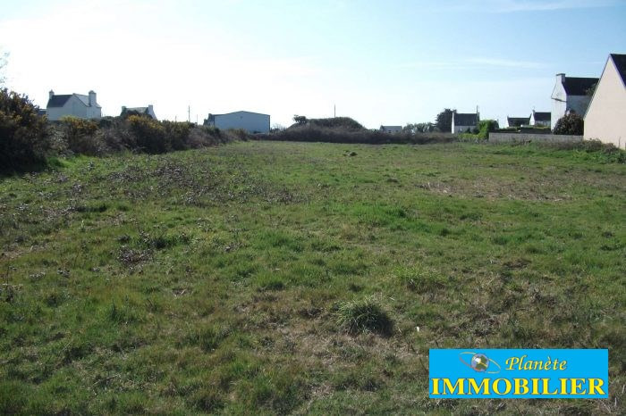 Vente terrain Plouhinec 80 250€ - Photo 1