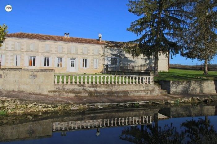Vente maison / villa Semoussac 277160€ - Photo 1
