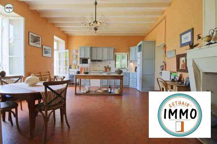 Deluxe sale house / villa Mortagne sur gironde 598900€ - Picture 7