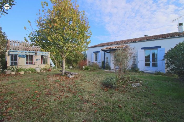 Sale house / villa Mortagne-sur-gironde 149900€ - Picture 1