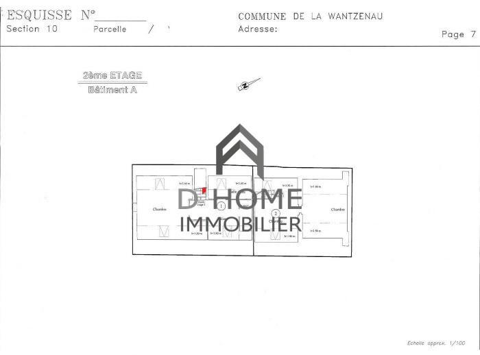 Verkoop  appartement La wantzenau 380100€ - Foto 4