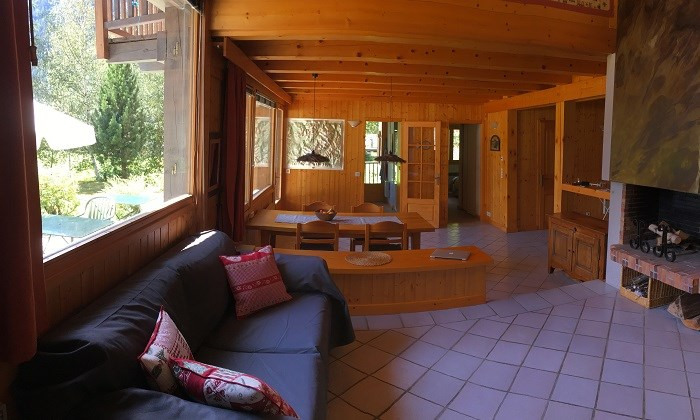 Vente de prestige maison / villa Argentiere 1390000€ - Photo 2