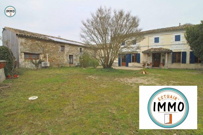 Vente de prestige maison / villa Plassac 446200€ - Photo 1