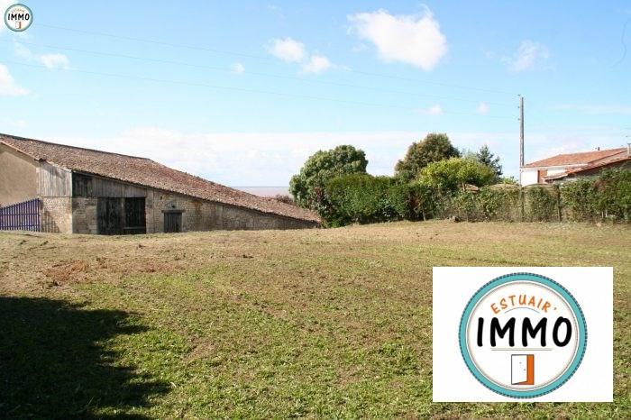 Vente terrain Mortagne-sur-gironde 44000€ - Photo 1