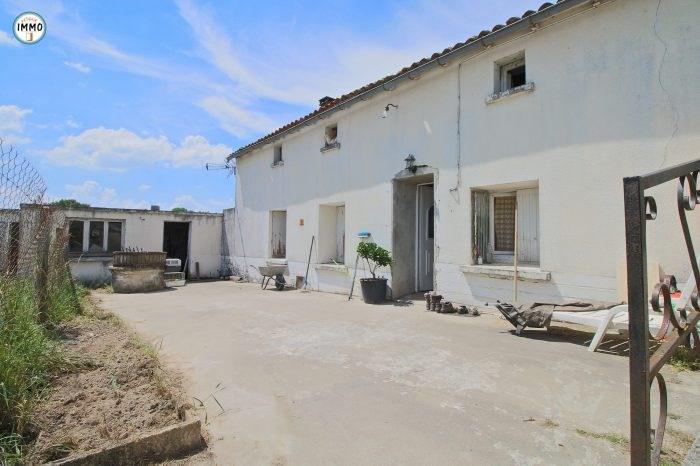 Sale house / villa Saint-dizant-du-gua 83100€ - Picture 1