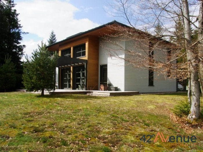 Maison bois au design contemporain