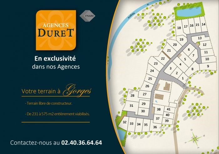 Sale site Gorges 72000€ - Picture 1