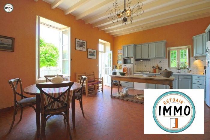 Deluxe sale house / villa Mortagne sur gironde 598900€ - Picture 8