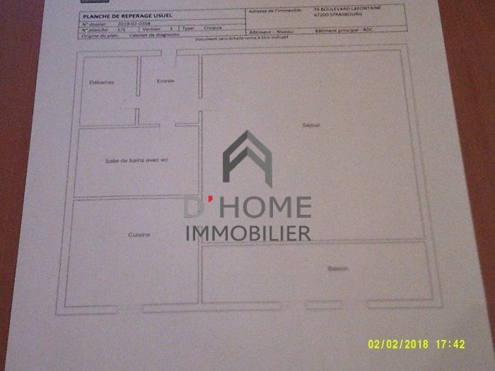 Producto de inversión  apartamento Strasbourg 76000€ - Fotografía 5