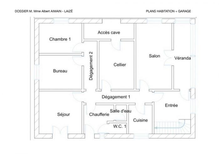 Vente maison / villa Hurigny 194000€ - Photo 13