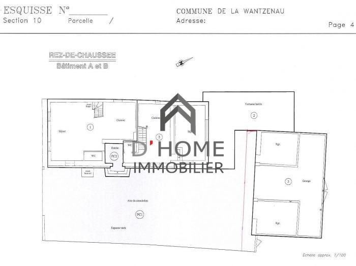 Verkoop  appartement La wantzenau 380100€ - Foto 2