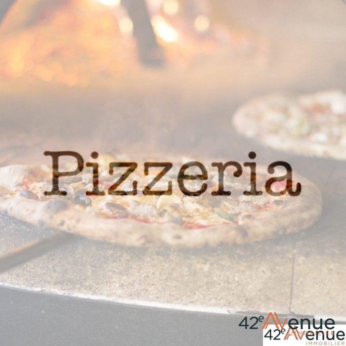 Mur d'une pizzéria
