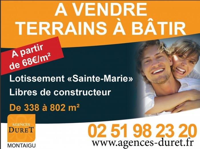 Sale site Corcoué-sur-logne 43800€ - Picture 1