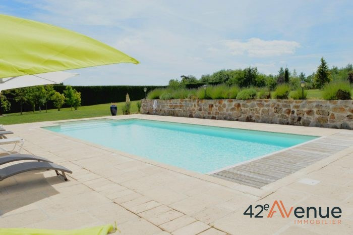 Revenda residencial de prestígio casa Rozier-côtes-d'aurec 514000€ - Fotografia 2